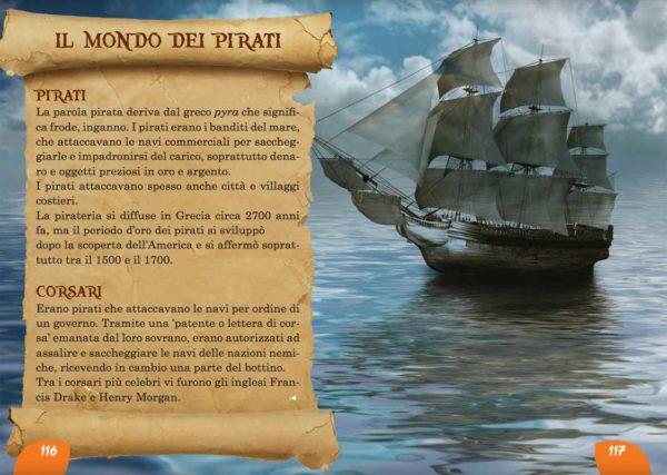 Il Corsaro Nero: i pirati. Romanzo per ragazzi e bambini.