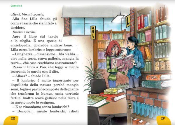 Emergenza lombrichi: la biblioteca