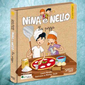 Pizza biologica. Libro illustrato per bambini. Collana Nina e Nello.