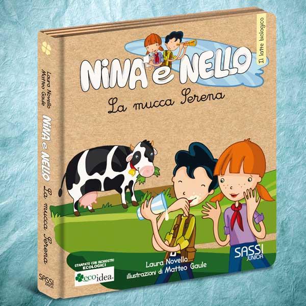 La Mucca Serena. Libro Illustrato Per Bambini Sul Ciclo
