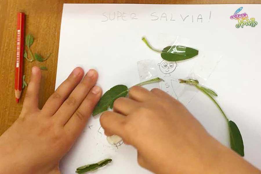 Laboratorio artistico di erboristeria per bambini